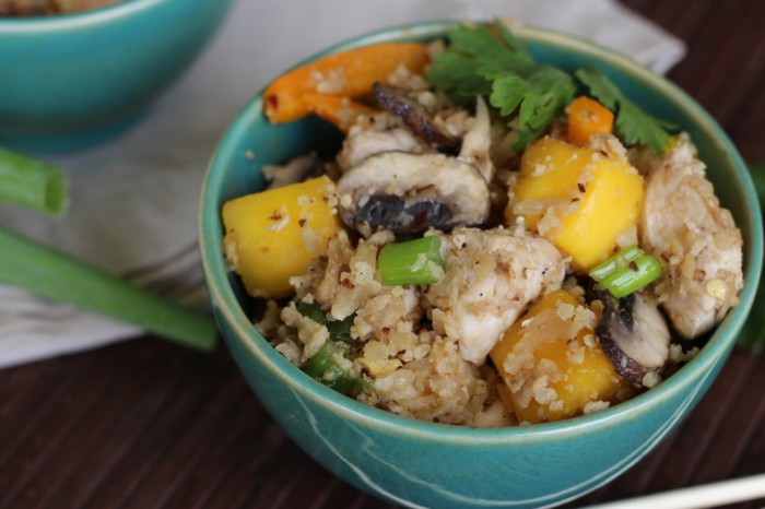 Thai Chicken and Mango Fried Rice Recipe