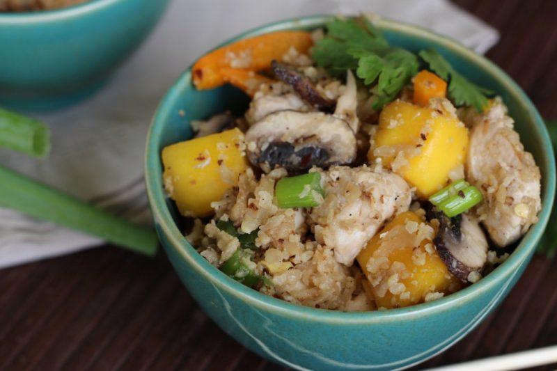 Thai Chicken and Mango Fried Rice Recipe
