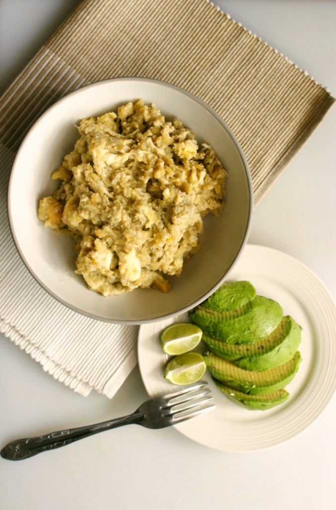 'Tigrillo' Plantain, Cheese and Egg Scramble Recipe