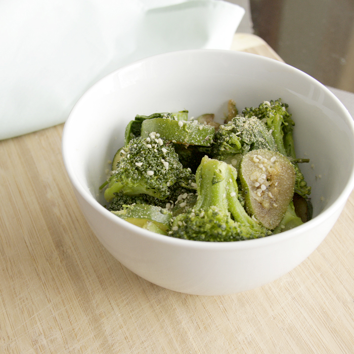 Green Veggie Saute Recipe