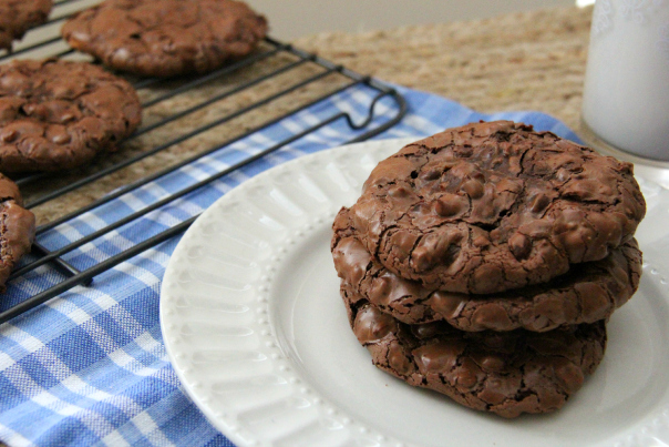 Flourless Chocolate Pistachio Cookies Recipe