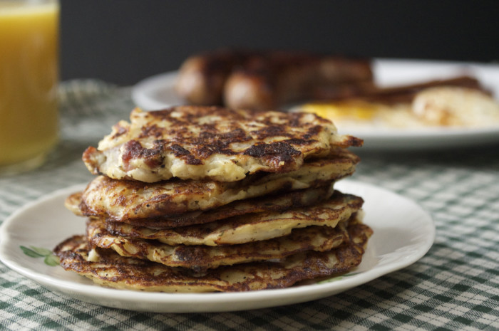 Paleo Irish potato pancakes