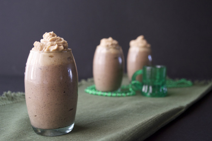 Paleo Irish creme mocha puddings