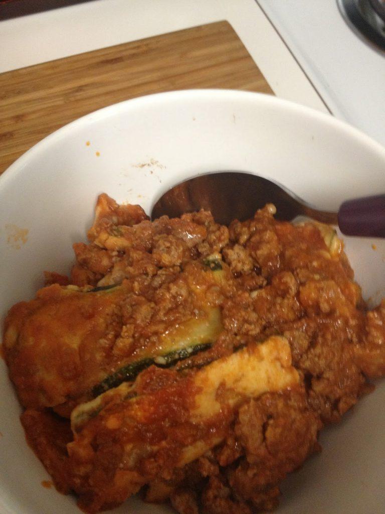 5-Ingredient Zucchini Noodle Lasagna Recipe