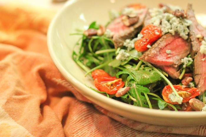 Balsamic Flank Steak Salad Recipe