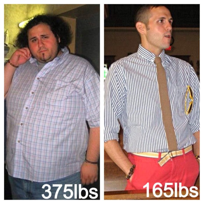 Anthony D'Amato Weight Loss