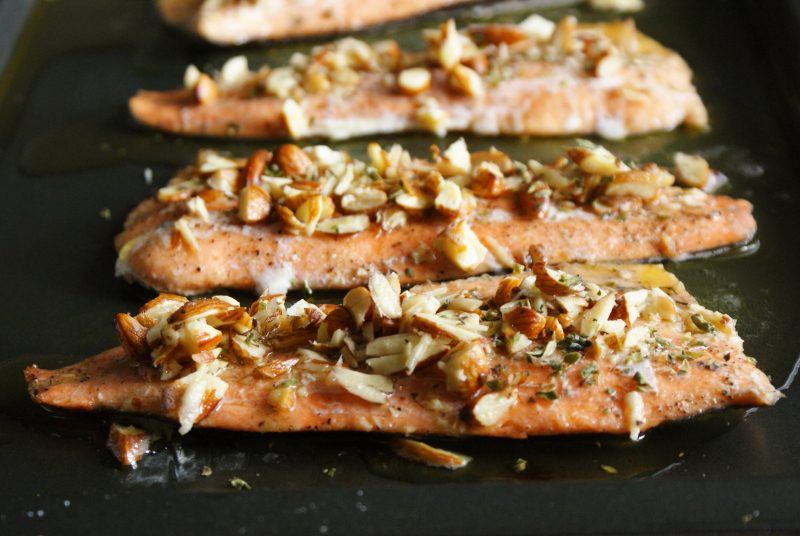 Brown Butter Trout Amandine Recipe