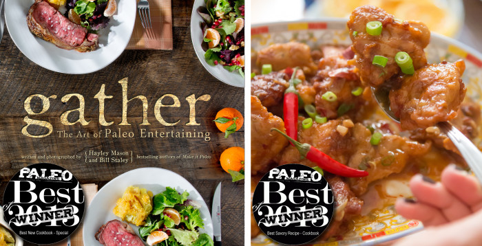 Gather Awards - Paleo Cookbook