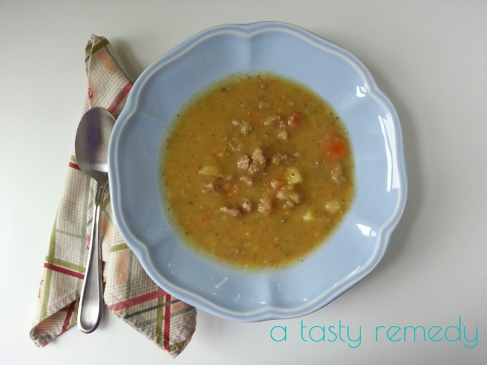 Sausage and Sweet Potato Soup Recipe