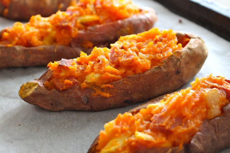 Hawaiian Stuffed Sweet Potato Recipe