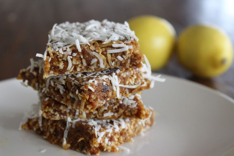 Lemon & Coconut Slice Recipe