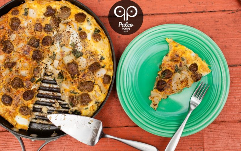 Paleo Breakfast Pizza Recipe