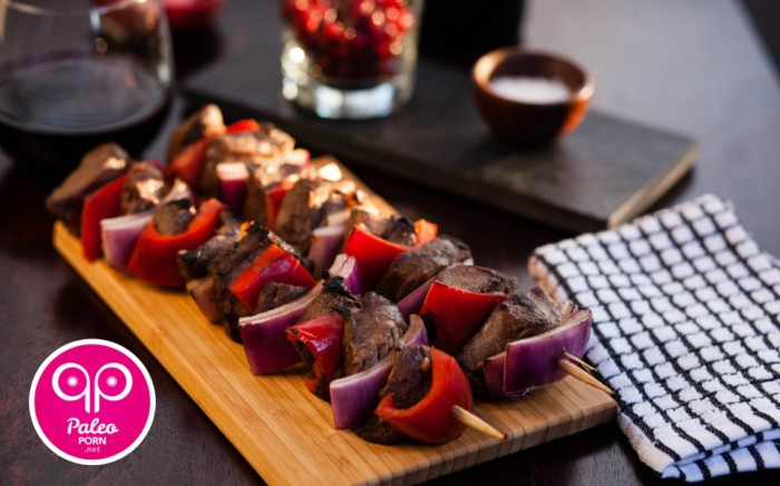 Beef Heart Kabobs Recipe