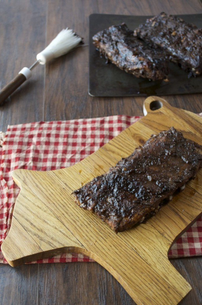 Balsamic Apple Ribs