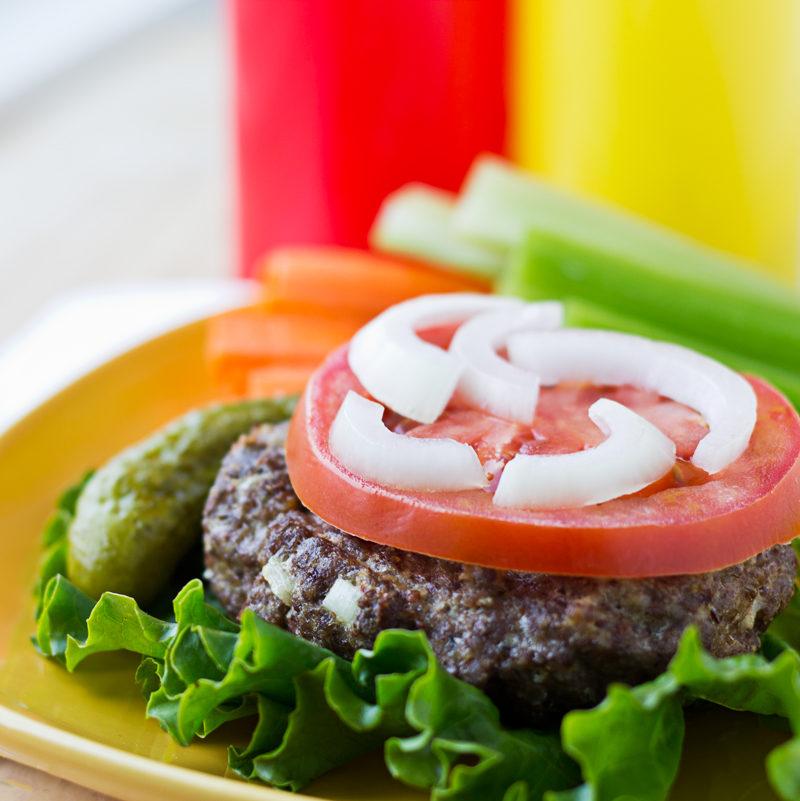 Broiled Paleo Burger Recipe