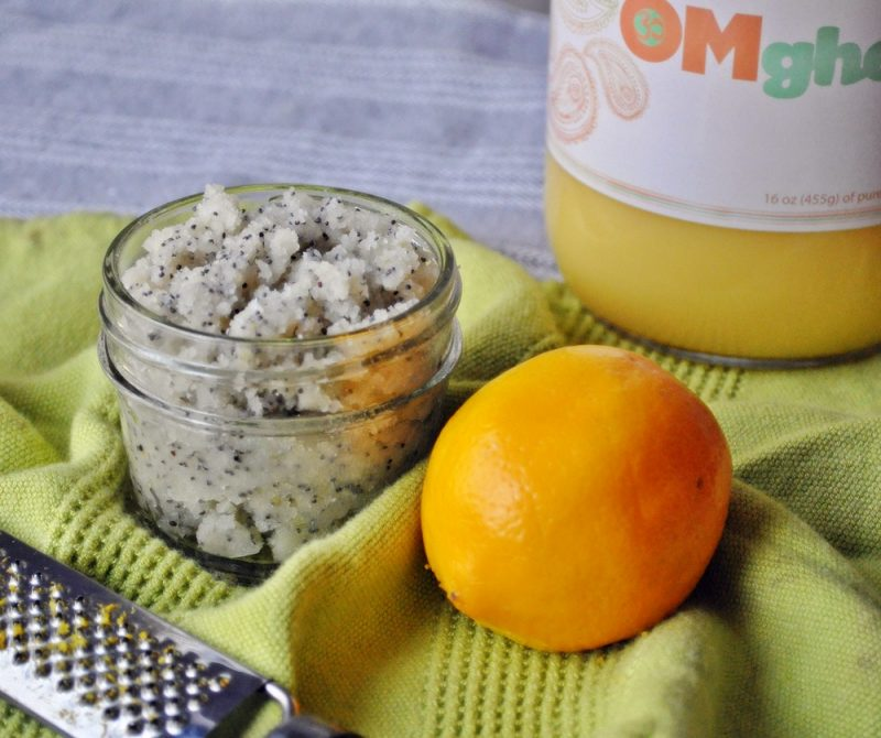 Lemon Poppyseed Coconut Butter Recipe