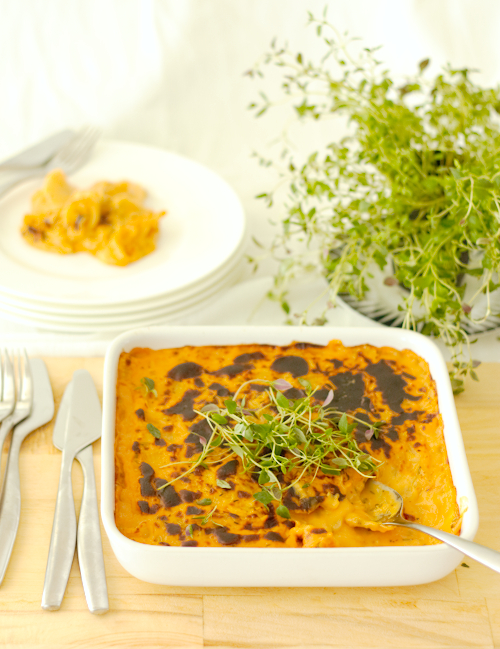 Sweet Potato Daikon Gratin Recipe