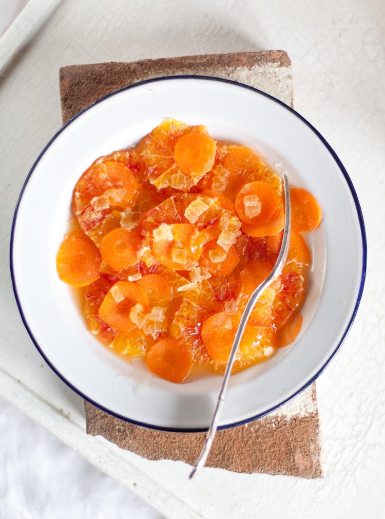 Orange, Carrot, Ginger Salad Recipe