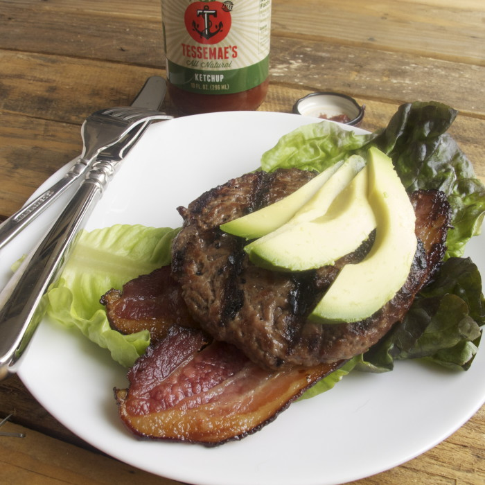 Garlicky Bacon & Avocado Burger