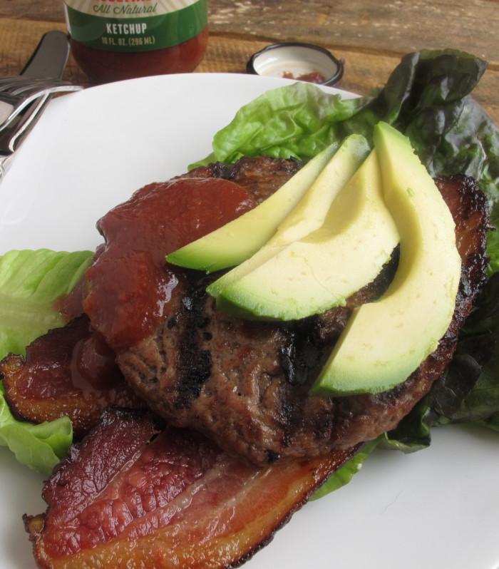 Garlicky Bacon & Avocado Burger