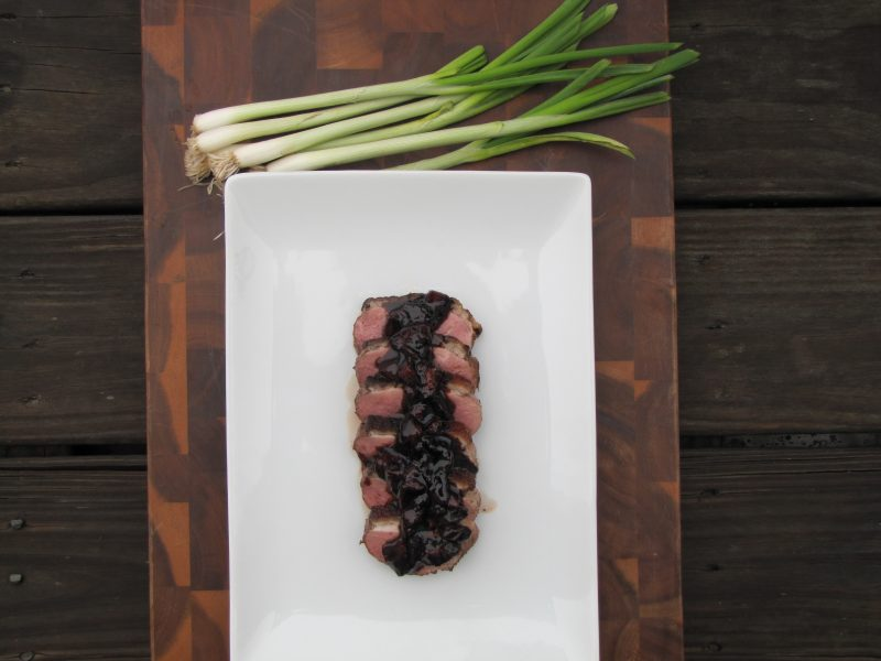 Strawberry Balsamic Duck Breast Recipe