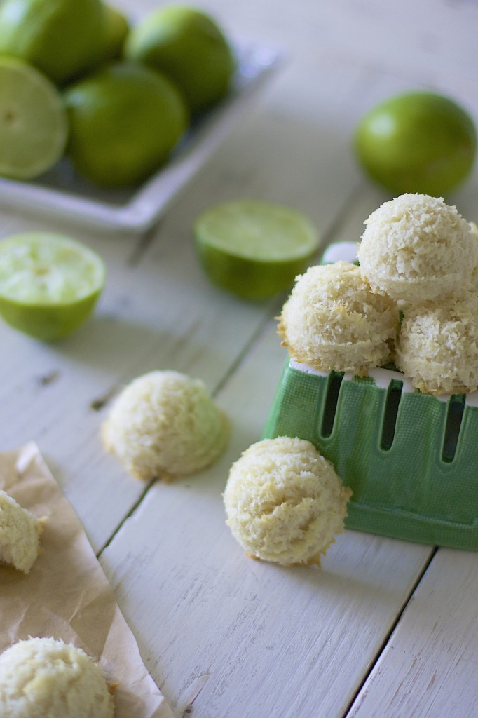 Lime Macaroons