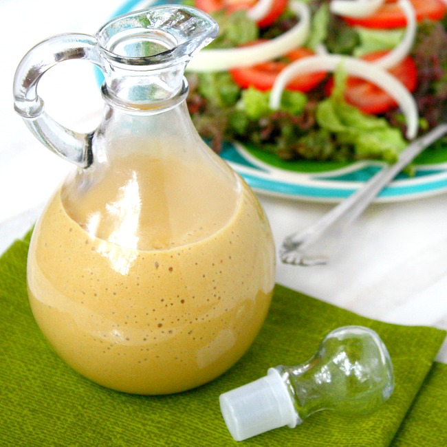 Healthy Honey Mustard Dressing Recipe