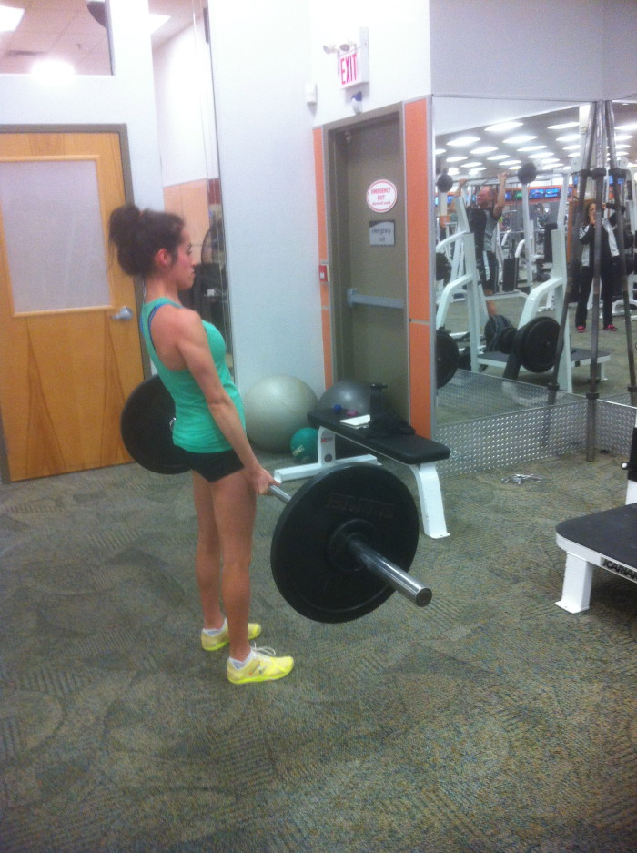 Meg lifting