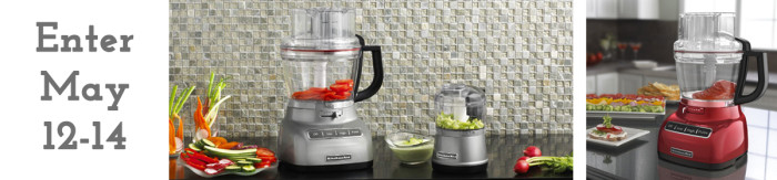KitchenAid Giveaway Food Processor
