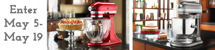 KitchenAid Giveaway Mixer