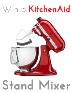 Win a stand mixer 2