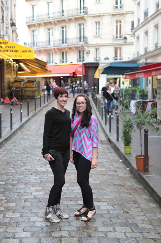 Hayley and Sam in Paris