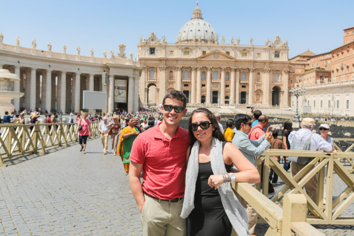 Bill and Hayley at the Vatican - Primal Palate