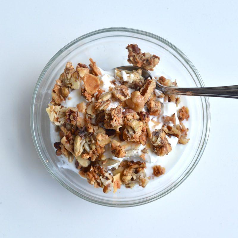 Nutty Paleo Granola Recipe