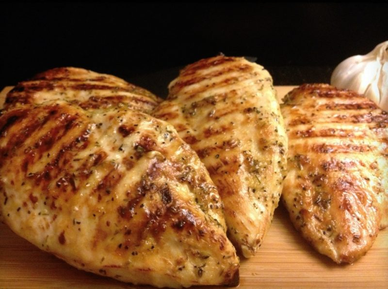 Honey/Garlic/Rosemary Glazed Chicken Breasts Recipe