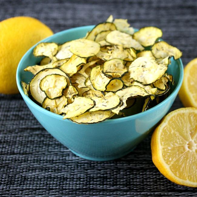 Lemon Dill Zucchini Chips Recipe