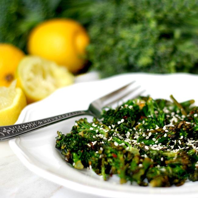 Spicy Lemon Sauteed Broccolini Recipe