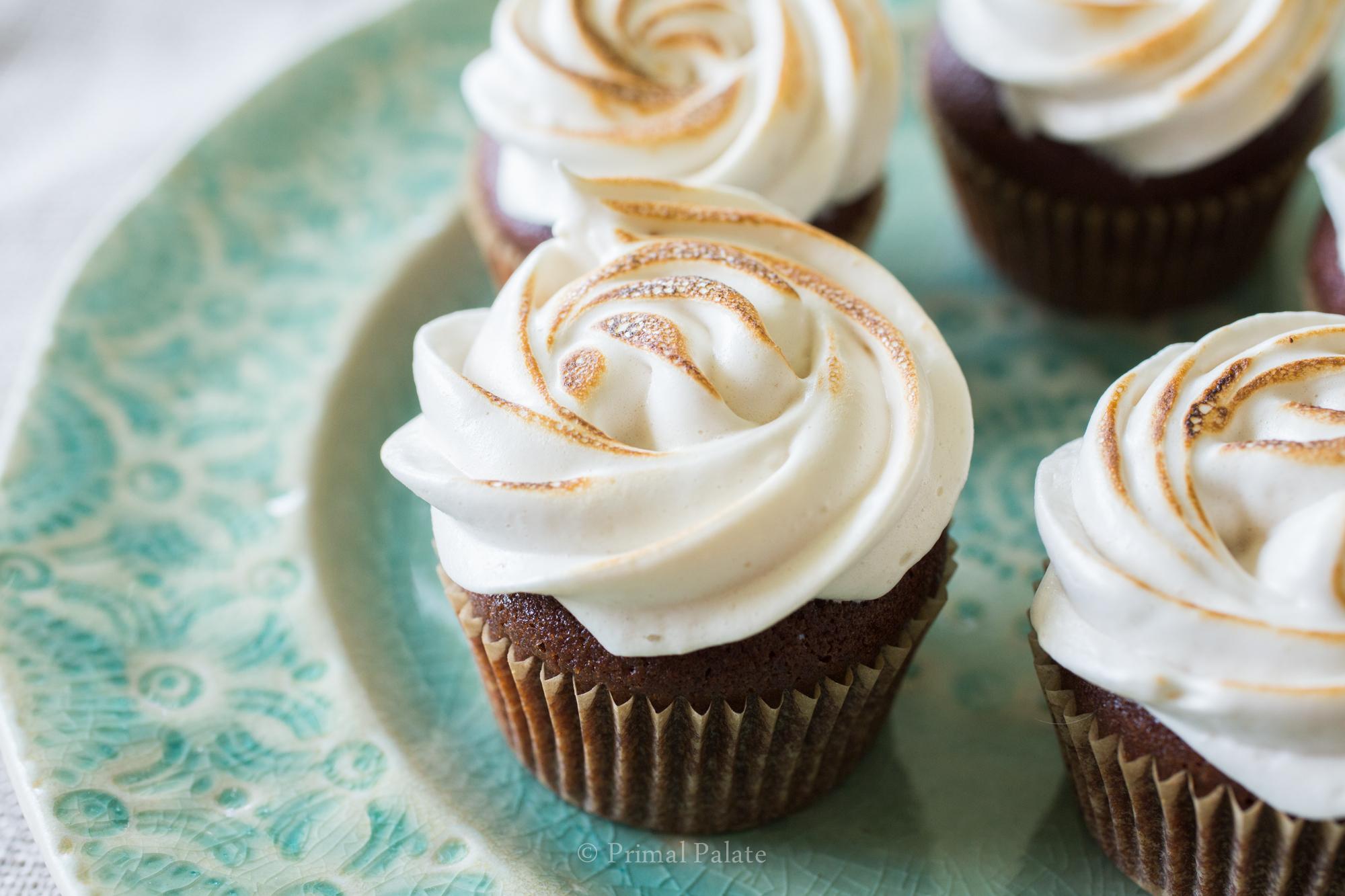Marshmallow Cupcakes-3