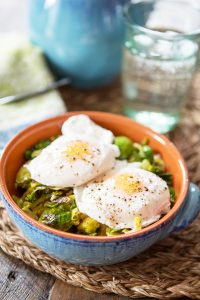 Paleo Poached Egg Breakfast