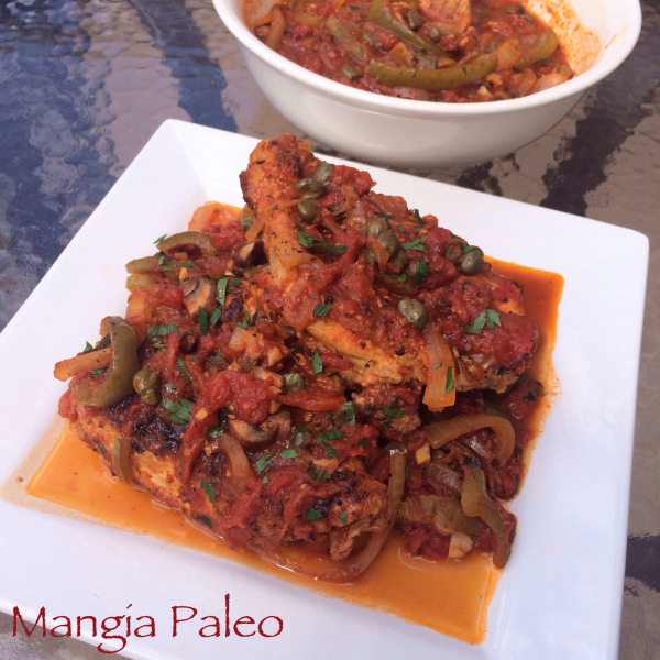 Paleo Chicken Cacciatore Recipe