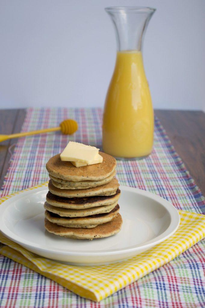 Lemon Poppyseed Pancakes Recipe