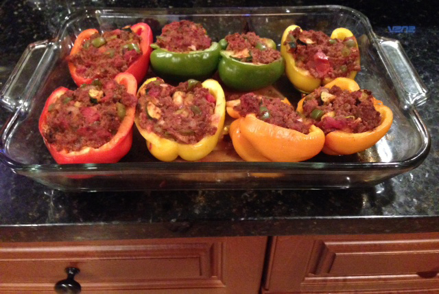 Karen's Paleo Friendly Stuffed Bell Peppers Recipe