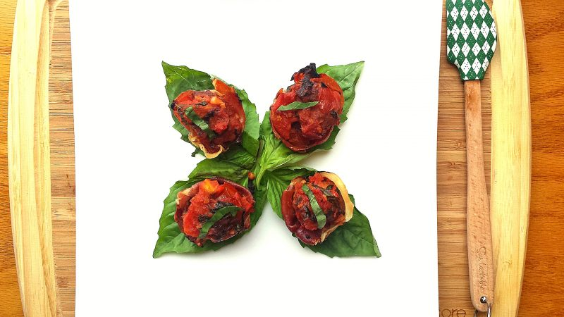 Saucy n' Spicy Prosciutto-Wrapped Meatballs Recipe