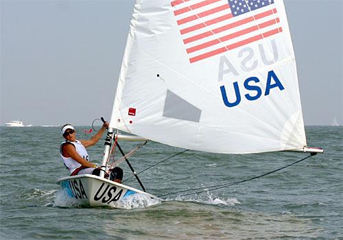 Anna Tunnicliffe Olympics 2008