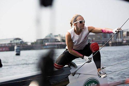 Anna Tunnicliffe Sailing