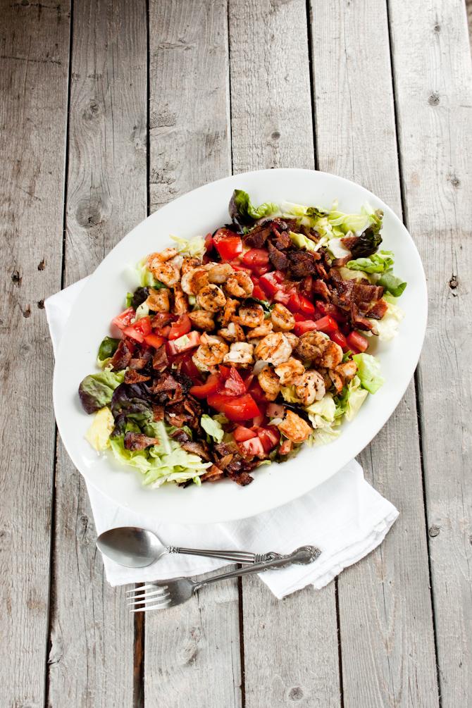 Shrimp BLT Salad Recipe