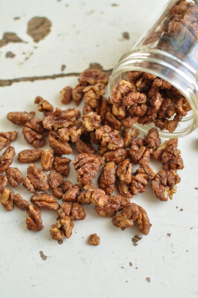 Cinnamon Maple Pecans Recipe
