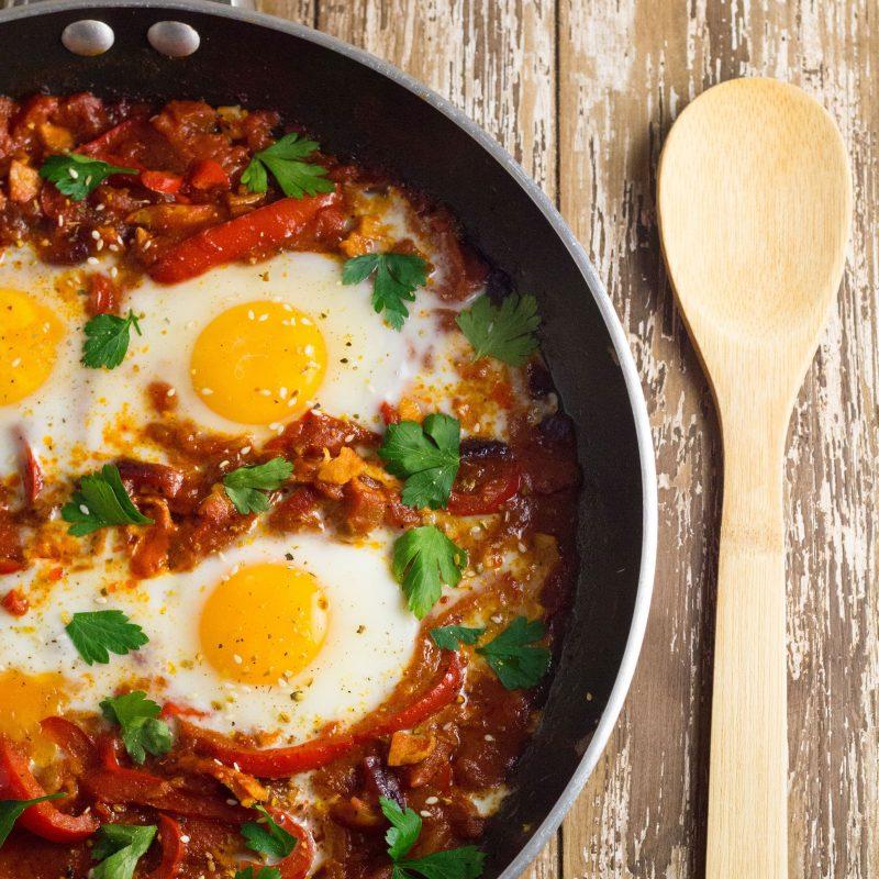 Shakshouka (poached egg recipe) Recipe