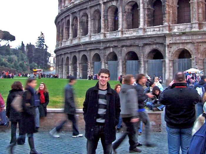 bill in rome 2006