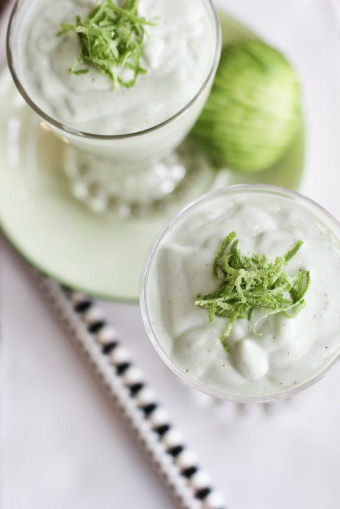 Avocado, Coconut and Lime Smoothie Recipe
